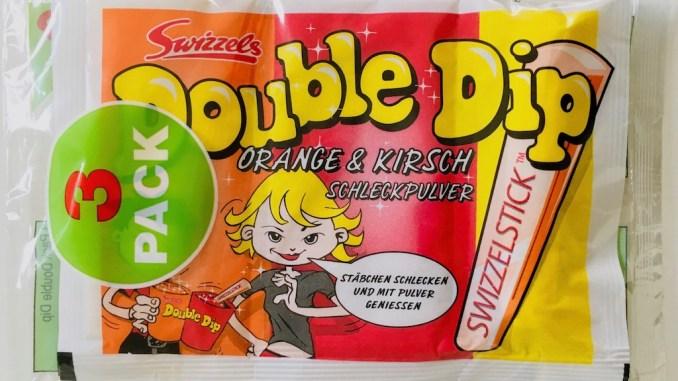 Swizzels Double Dip Orange Kirsch Schleckpulver