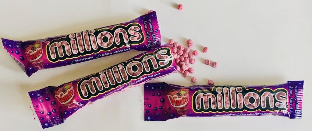 millions Vimto-Geschmack