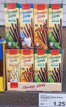 Aldi Scholetta Chocolate Sticks Deluxe Mint-Milch-Orange-Latte Macchiato