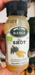Bangs Bio Shot Ingwer-Orange-Möhre