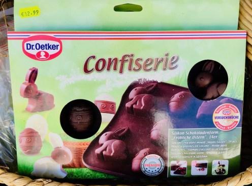 Dr. Oetker Confiserie Silkon-Schokoadenform Fröhliche Ostern