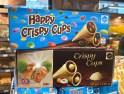 Eichetti Happy Crispy Cups ohne und mit Schoko-Dragees