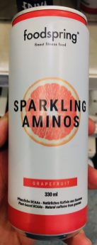 Foodspring Sparkling Aminos Grapefruit