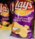 Lays Sour Cream+Black Pepper Kartoffelchips