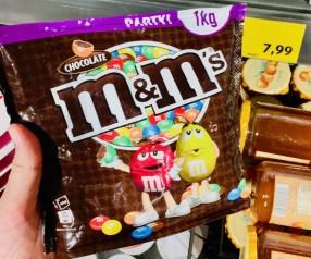 Mars M+M Schokolade 1 Kilo Großpackung