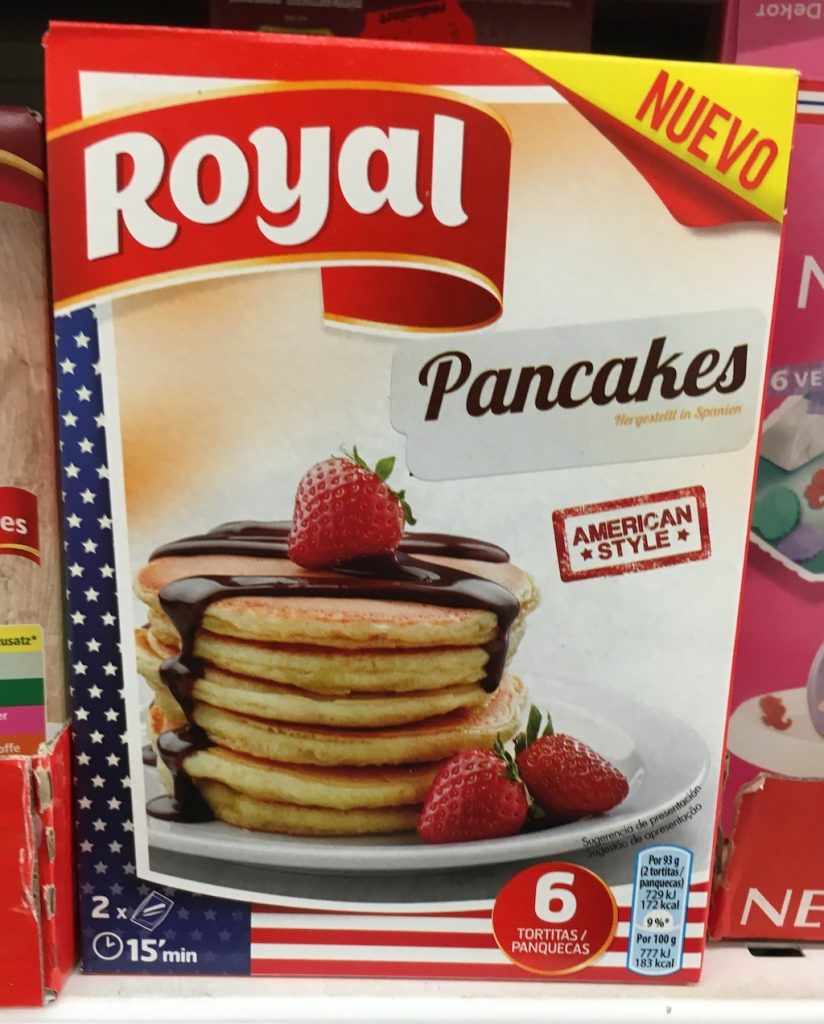 Royal Pancakes Backmischung