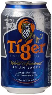 Tiger Asian Lager Bierdose