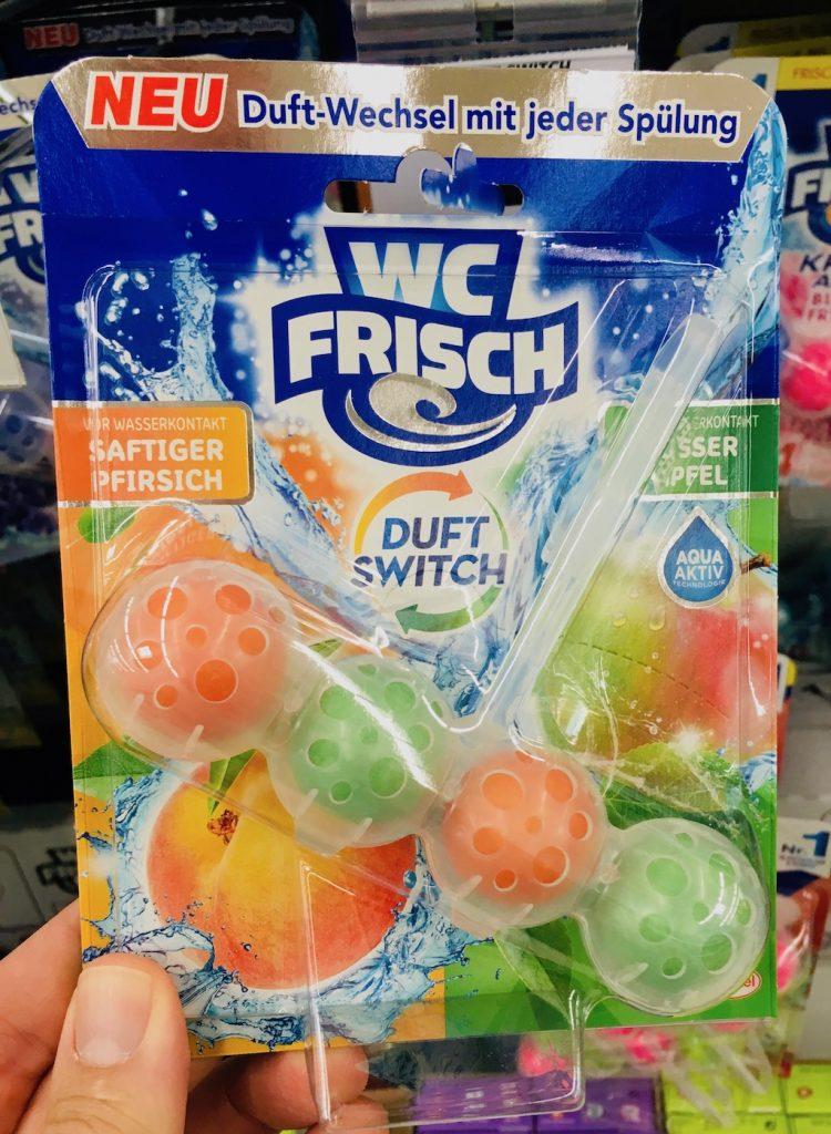 WC Frisch Kloerfrischer Saftiger Pfrsich und Süsser Apfel