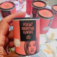 Just Spices Frucht Smoothie Gewürz mit Zitronenschale-ingwer-Malvenblüten-Orangenblüten-Orangenschale-Minze 56Gramm
