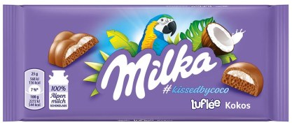 Mondelez Milka Luflée Kokos 100g Papagei