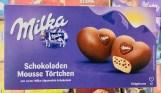 Mondelez Milka Schokoladen Mousse Törtchen mit zarter Milka-Alpenmilch-Schokolade Eiskrem