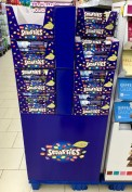 Nestlé Smarties Display Juni 2019