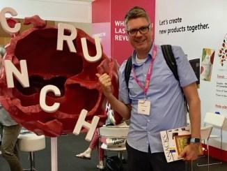 Naschkater Oliver Numrich Crunchy Cranberry SnackEx Barcelona 2019