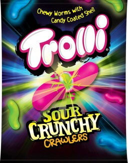 Trolli USA Sour Crunchy Crawlers