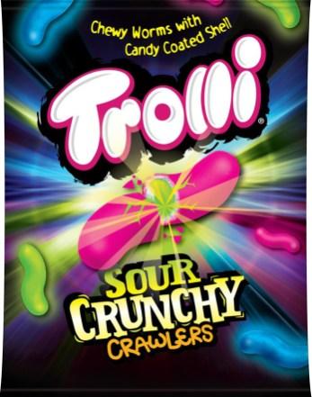 Trolli USA Sour Crunchy Crawlers