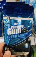 COOP Schweiz Black Chewing Gum Fresh Mint mit Aktivkohle