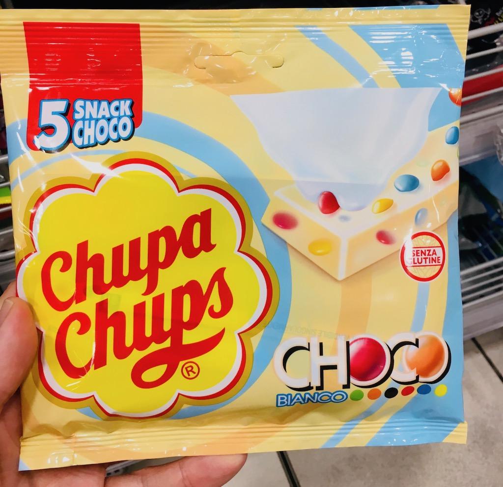 ChupaChups SnackChoco Bianco Italien