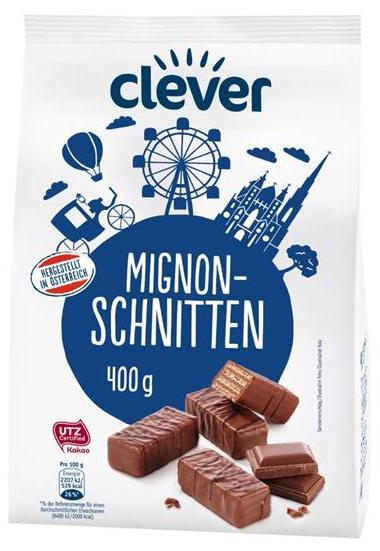 Clever Mignon-Schnitten 400 Gramm