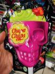 Perfetti van Melle Cupa Chups: 7 Lollipops in Totenkopfform mit offenem Gehirn
