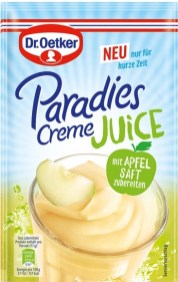 Dr. Oetker Paradiescreme Juice Dessertpulver