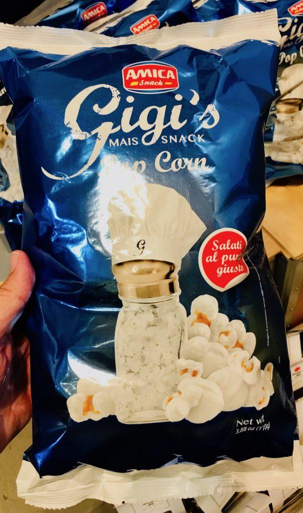 Eataly AMICA Gigi's Mais Snack Popcorn