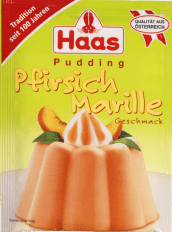 Ed Haas Pudding Pfirsich-Marille