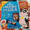 Granarolo La Merenda della Lola Pausensnack mit Loacker-Waffelriegel und Kakaomilch