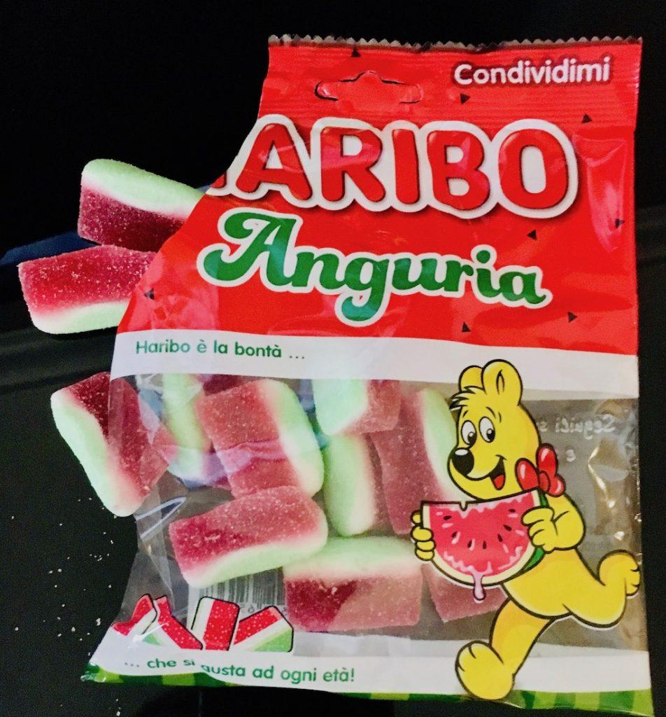 Haribo Anguria Wassermelone Condividimi Italien 7-2019