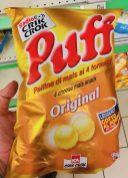 KCA CrikCrok Puff Original Maispuffs rund 4 Käse