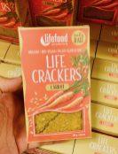 Lifefood Really Raw Life Crackers Karotte 80 Gramm Snack
