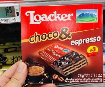 Loacker Choco & espresso Waffelriegel