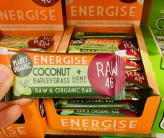Planet Organic Energise Coconut Barley Grass + Hanf Protein Raw 46