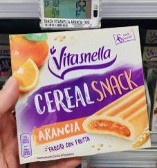 Vitasnella Cereal Snack Orangenkeks