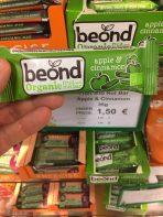 beond Organic fruit and nut bar apple Cinnamon 35 Gramm