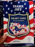 Aldi Trader Joe's Backmischung Heart Cake