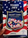 Aldi Trader Joe's Backmischung Heart Cake
