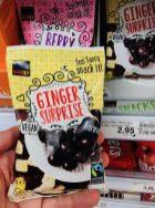 Coop SChweiz Ginger Surprise Vegan schokolierte Ingwer-Stückchen
