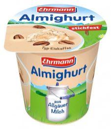 Ehrmann Almighurt Typ Eiskaffee Joghurt