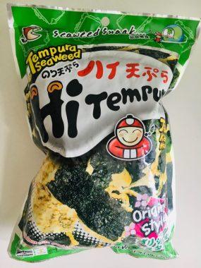 Hi Tempur Asiatische Chips mit Tempura und Algen Originalgeschmack