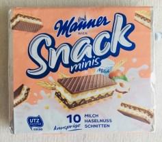 Manner Snack Minis Haselnussschnitten