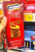 McVities Thins Milchschokoladen-Kekse Italien