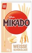 Mondelez Lu Mikado Weiße Schokolade 75 Gramm