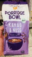 Rewe Porridge Bowl Kakao+Nuss by Anne Kissner - mit Unterschrift