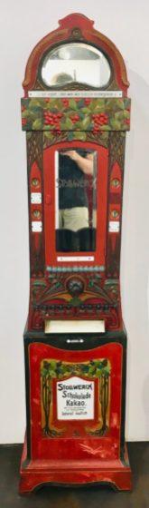 Stollwerck Schokolade Kakao Automat rot