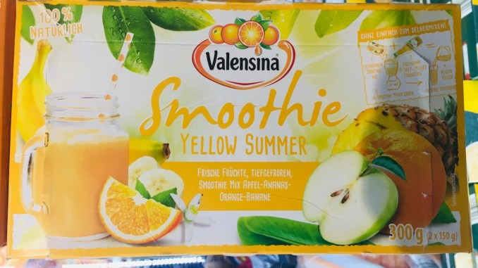 Valensina Smoothie Yellow Summer 300 Gramm