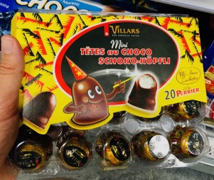 Villars Mini Schokko-Köpfe Tetes au Choco Schokoküsse Schweiz