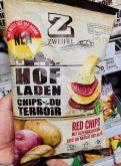 Zweifel Hofladen-Chips Rote Chips mit Alpenbasilikum
