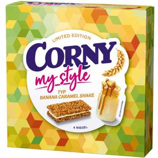 "Corny Müsliriegel ""My Style"", Typ Banane-Karamell-Milchshake"