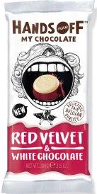 Hands Off my Chocolate mit Red Velvet-Kuchengeschmack.