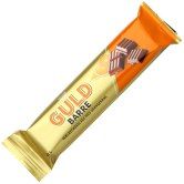 Goldbarren-Schokoriegel von Toms mit Orange.